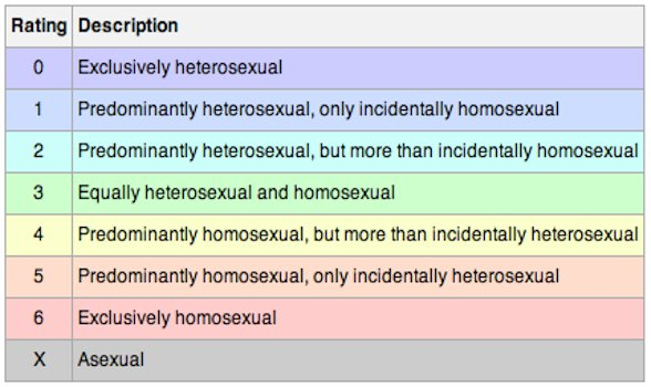 Hetero Gay Scale